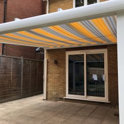 Awning with Post Pic